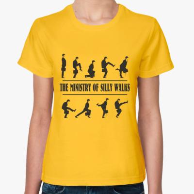 Женская футболка  Silly Walks