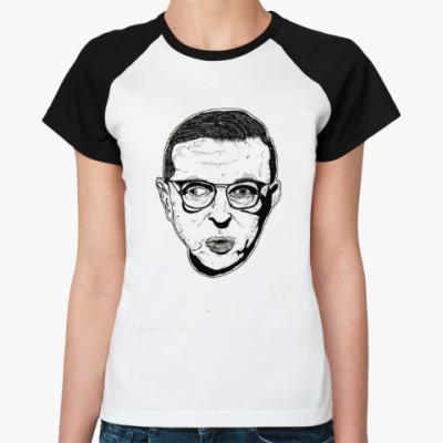 Женская футболка реглан Жан-Поль Сартр
