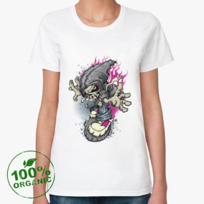 Женская футболка из органик-хлопка Drive