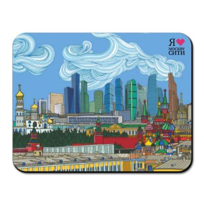 Коврик для мыши Москва-Сити Skyline