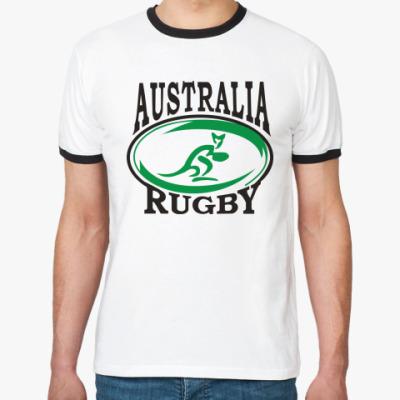 Футболка Ringer-T Регби Австралия