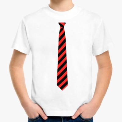 Детская футболка Полосатый галстук