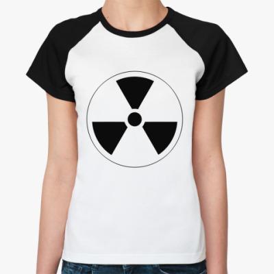 Женская футболка реглан RADIATION