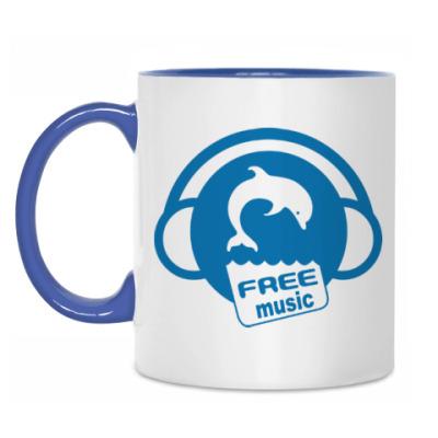 Кружка Free Music