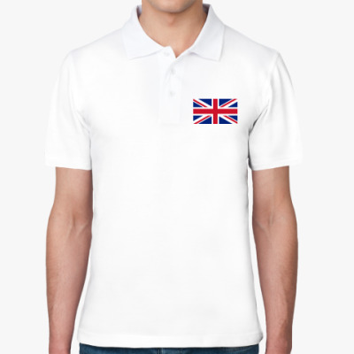 Рубашка поло Флаг Великобритании