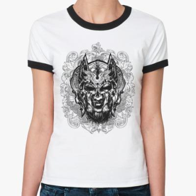 Женская футболка Ringer-T Тор (сын Одина)