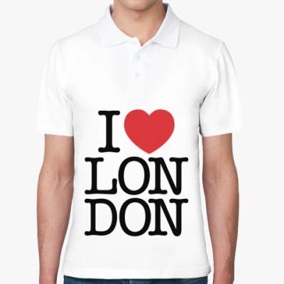 Рубашка поло Я люблю Лондон