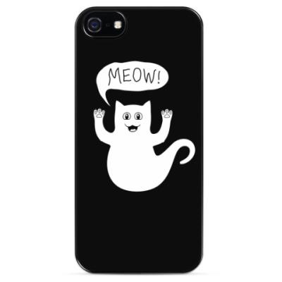 Чехол для iPhone Призрачный кот