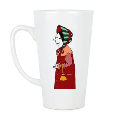 Чашка Латте Ретро