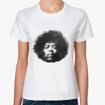 Классическая футболка Hendrix  round Жен