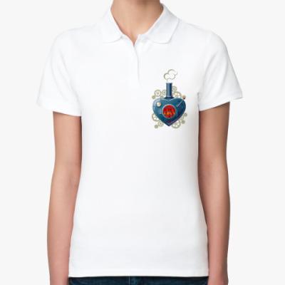 Женская рубашка поло  Steamheart
