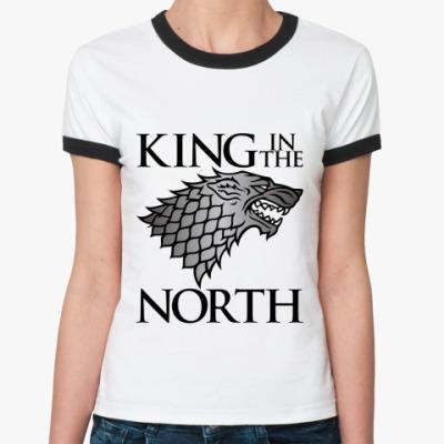 Женская футболка Ringer-T  Игра престолов