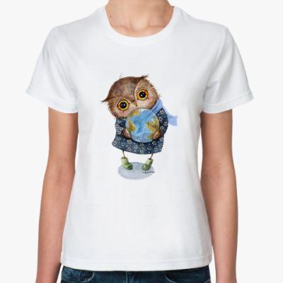 Классическая футболка Эко-сова