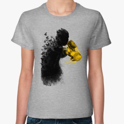 Женская футболка Порхай как бабочка