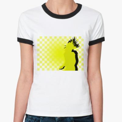 Женская футболка Ringer-T Настроение