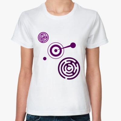Классическая футболка Круги УФО