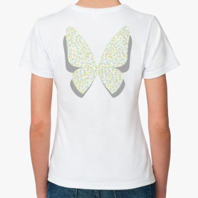 Классическая футболка Крылья-горох