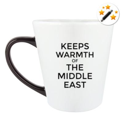 Кружка-хамелеон Тепло Ближнего Востока
