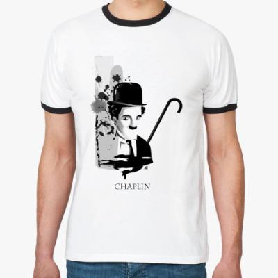 Футболка Ringer-T Charlie Chaplin