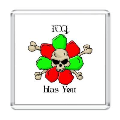 Магнит ICQ