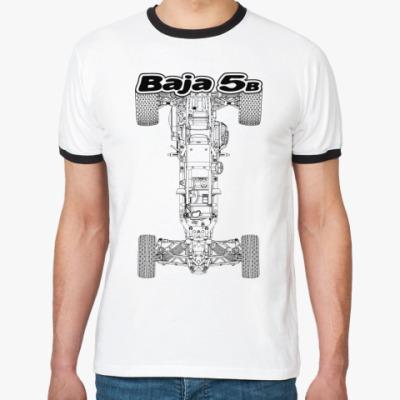 Футболка Ringer-T Baja 5b (вид сверху)