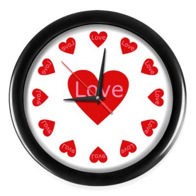 Настенные часы С любовью