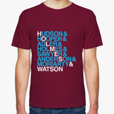Футболка Холмс и Ватсон