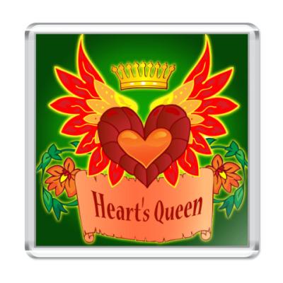 Магнит  Королева сердец