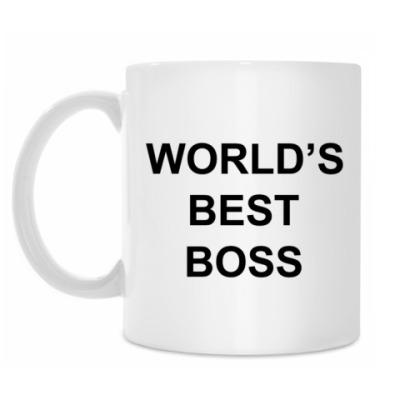 Кружка Лучший в мире босс