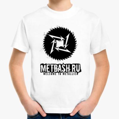 Детская футболка Metbash Metalli-Kid