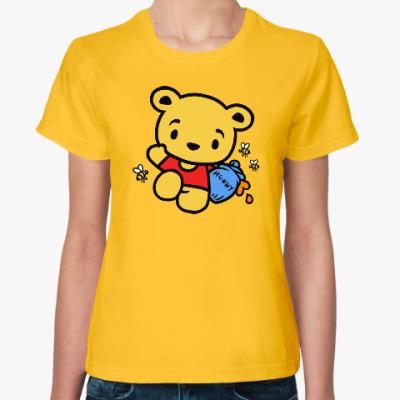Женская футболка Hello Winnie the Pooh