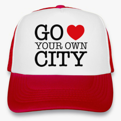 Кепка-тракер Love your own city