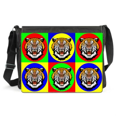 Сумка Tiger Pop Art