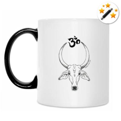 Кружка-хамелеон Священная корова ОМ