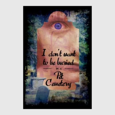 Постер Pet Cemetery