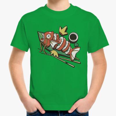Детская футболка Суши
