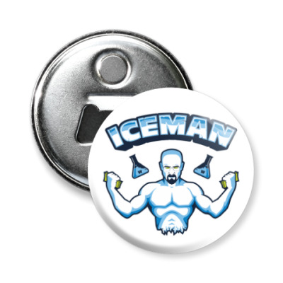 Магнит-открывашка Iceman