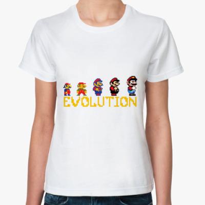 Классическая футболка  Супер Марио