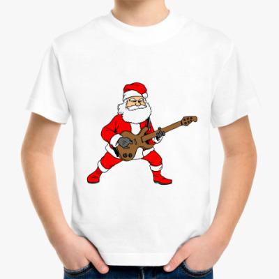 Детская футболка Санта Рок