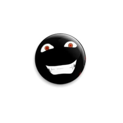 Значок 25мм улыбка Алукарда