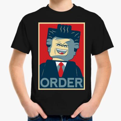 Детская футболка Лего Президент