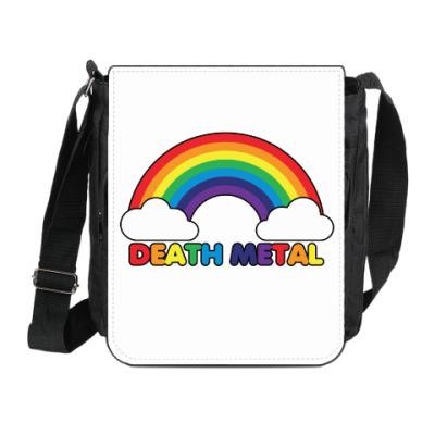 Сумка на плечо (мини-планшет) Death Metal
