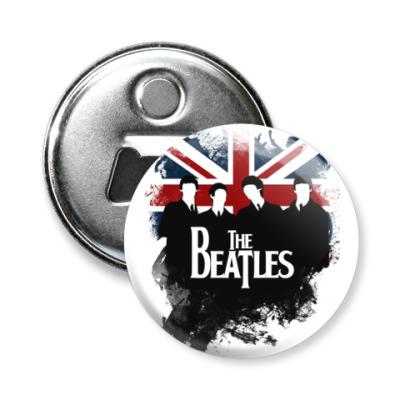 Магнит-открывашка The Beatles -открывашка