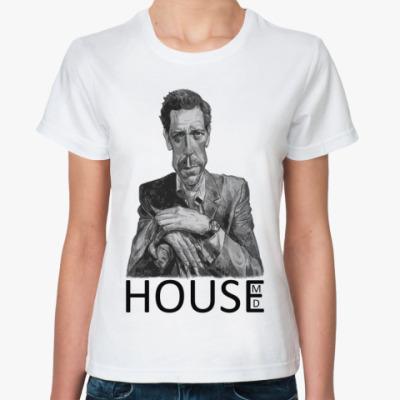 Классическая футболка House pencil