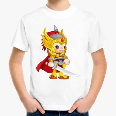 Детская футболка Воин