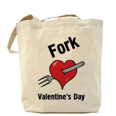 Сумка Fork V Day