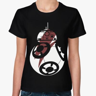 Женская футболка BB-8 (Звездные Войны)