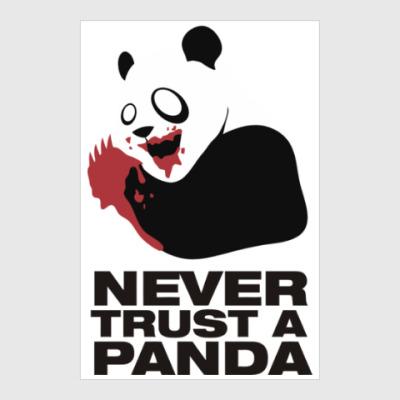 Постер Никогда не верь панде
