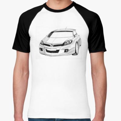 Футболка реглан Автомобиль Opel