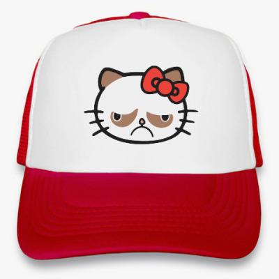 Кепка-тракер Hello Grumpy Cat